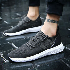 New Mens Cool Flyknit Running Sport Shoes Breathable Casual Athletic Sneakers