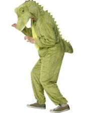 Adult Crocodile Animal Ladies / Mens One Piece Fancy Dress Costume Party Outfit