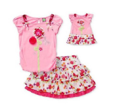 NWT Dollie & Me 10 Floral Outfit Matching Girl Doll fits American Girl