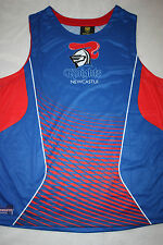 NRL NEWCASTLE KNIGHTS 2015 MENS KIDS SUBLIMATED SINGLET sizes 2XL 4XL 8Y
