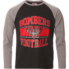AFL Essendon Bombers Youth Kids Long Sleeve T-Shirt Tee 2016, sizes 6 8 14