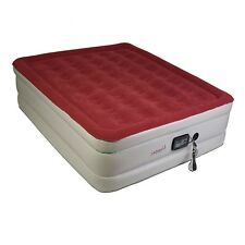 Air Mattress Airbed Queen Inflatable Bed w/ Built In Electric Remote Pump Twin