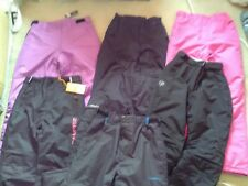 GIRLS SKI TROUSERS SALOPETTES age 7 8 9 10 11 12 13 14 from £12.99 *FREE P&P