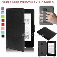 Slim Premium Leather Skin Smart Case Cover For Amazon Kindle Paperwhite Kindle 6