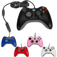 USB Wired/Wireless GamePad Controller For Microsoft Xbox360 Slim Console US Ship