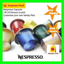 Nespresso Coffee Capsules Pods All 24 Flavours Pick Customize Your Own Pack eBC