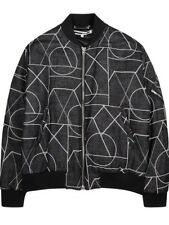 NWT McQ Alexander McQueen Geometric Bomber Jacket (Made in Italy) RRP $845