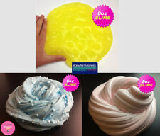 Clear Slime, Floam, Fluffy Slime | 3 Slime in 12oz & 24 Blue, Yellow, Pink Slime