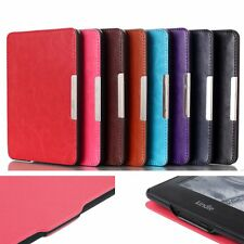 Hand Strap Leather Magnetic Thin Case Cover For Amazon Kindle 6 7th Generation