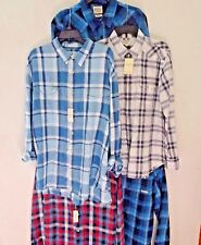 NWT NEW LUCKY BRAND Button Down Long Sleeve Plaid Shirt