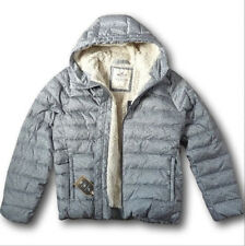 NWT Hollister by Abercrombie&Fitch Men's Sherpa Lined Down Filled Puffer Jacket