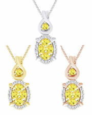 0.25 Ct Round Cut Natural Diamond Halo Cluster Pendant Necklace In 14K Gold