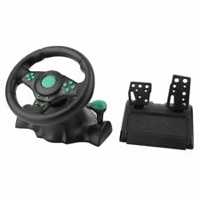 180 Degree Steering Wheel & Pedals for PS3 PlayStation Gaming Controll LOT IB