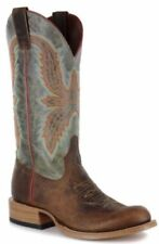 New Mens Anderson Bean Horsepower HP6003 Saddle Mad Dog Brown Dress Cowboy Boots