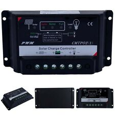 Upgrade Version 5/10/15/20/30A 12V/24V Autoswitch PWM Solar Charge Controller FT