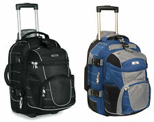 High Sierra Carry-On Wheeled Backpack with Removable Daypack Backpacks