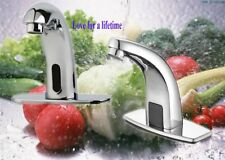 """Modern 5"""" Lead Free Automatic Electronic Sensor Touchless Faucet Hands Free BP"""