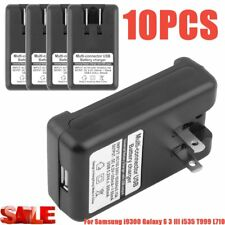 New Battery Wall Travel Charger Plug for Samsung Galaxy S3 SIII i9300 i747 LOT