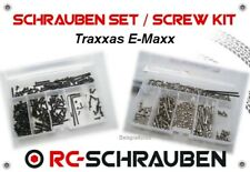 Screw Set for the Traxxas E-Maxx - Stainless Steel & Steel - ISK & IS