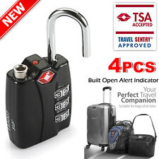 Travel Buddy Security Padlock - Travel Suitcase Luggage Bag Code Lock (Black)