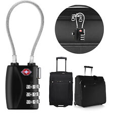 TSA Approved Luggage Locks, Ultra-Secure Dimple Key Suitcase Travel Lock Alert