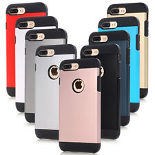 For iPhone 8 Plus 7 6 S Plus Heavy Duty Shockproof Case Tough Armor Hybrid Cover
