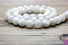 Natural Rainbow Moonstone Faceted Round Beads Natural Gemstone - Full Strand