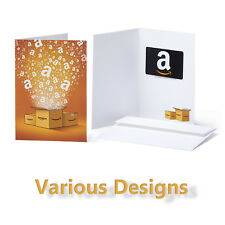 AMAZON Gift Card in a Greeting Card | Various Designs | 20$ 25$ 30$ 40$ 50$
