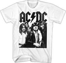 ACDC Malcolm Angus Young Classic Rock Band Guitarist CONCERT Adult T-Shirt 10