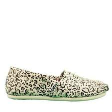 Ladies Toms W.S.Class Bobcat with Gold Foi, Natural, BNWB