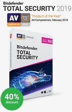 BITDEFENDER TOTAL SECURITY 2018 - Fast Delivery (eDelivery)
