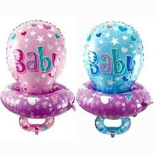 Baby Girl Boy Pacifier Shape Foil Balloon for Baby Shower Newborn Birthday Party