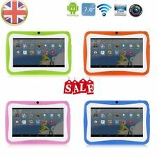 """7"""" Kids Tablet PC 1.5GHZ Quad Core 8GB WIFI Android Tablet 1024x600 Screen Hcj"""