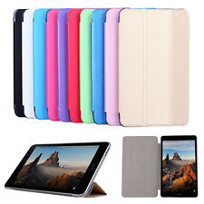 "Silk Grain Stand Leather Protective Case Cover For 7.0"" 8.0"" 10"" Huawei MediaPad"