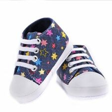 Newborn Baby Boys Girls Shoes First Walker Soft Sole Crib Casual Sneaker