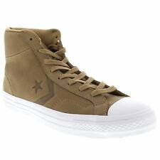 Converse Star Player Hi Sand Dune Mens Leather High Top Trainers