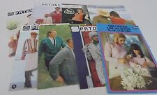 VINTAGE / RETRO PATONS KNITTING PATTERN BOOKS YOU CHOOSE A KNITTING BOOK