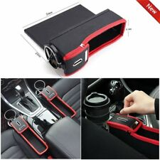 Car Seat Seam Gap Filler Catcher Cup Holder Storage Box Organizer Collector O