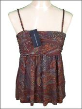 Bnwt Women's French Connection Strappy Top Blouse Fcuk New Viscose