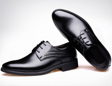 New Men Dress Formal Party Faux Leather Shoes Wedding Business Groomsman Oxfords