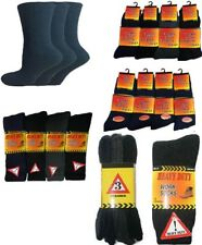 12 Pairs Mens Construction Factory Work Warm Thick Thermal Socks Work Boot Socks