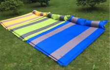 Double Self Inflating 3cm Thick Pad Sleeping Mattress Mat Air Bed Camping