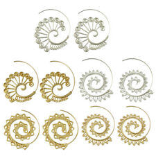 Lots New Styles Swirl Tribal Spiral Earrings Behomia Stud Piercing Earrings