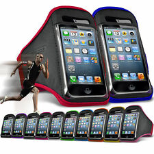 """For HTC One A9s (5"""") Running Jogging Sports Gym Armband Mobile Holder Case Cover"""