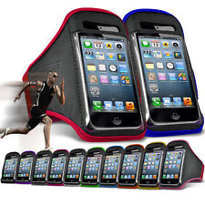 """For HTC 10 (5.2"""") Running Jogging Sports Gym Armband Mobile Holder Case Cover"""