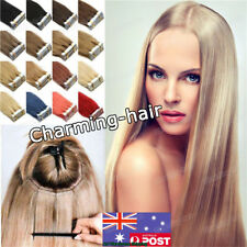 Invisible Seamless Tape in Skin Weft Remy Human Hair Extensions 20/40Pcs 22Inch
