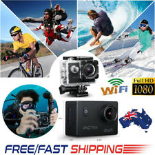 PICTEK Sports Action Camera WiFi LCD Ultra HD Water-proof170° DV Cam 1080P 4K
