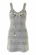 Topshop Gingham Pinafore Dress *Size 6,8,10,12,14* BNWT