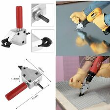 """Turbo Shear 20 Gauge Capacity Sheet Metal Cutting Attachment for 3/8"""" Drills ACC"""