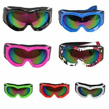 Motocross Kids Racing Goggles Tinted Lens Dirt Trail Bike ATV PW50 Riding Youth